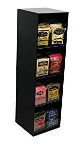 8 Flavor Tea Rack coffee counter Organizer 224 total packs