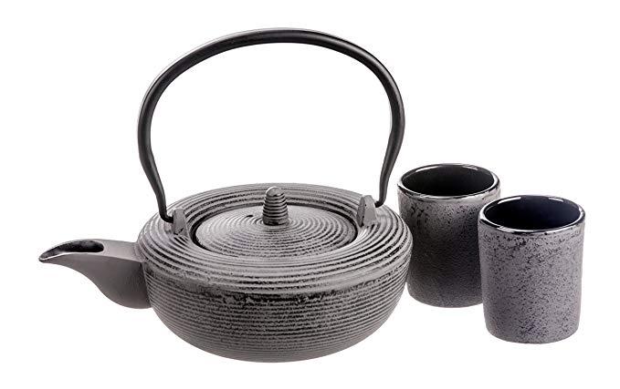 Gaia Collection - Batch #45, Cast Iron Tea Set