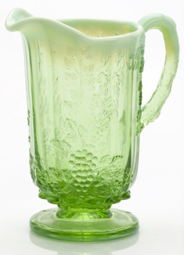 Mosser Glass 24 Ounce Pitcher in Green Crystal