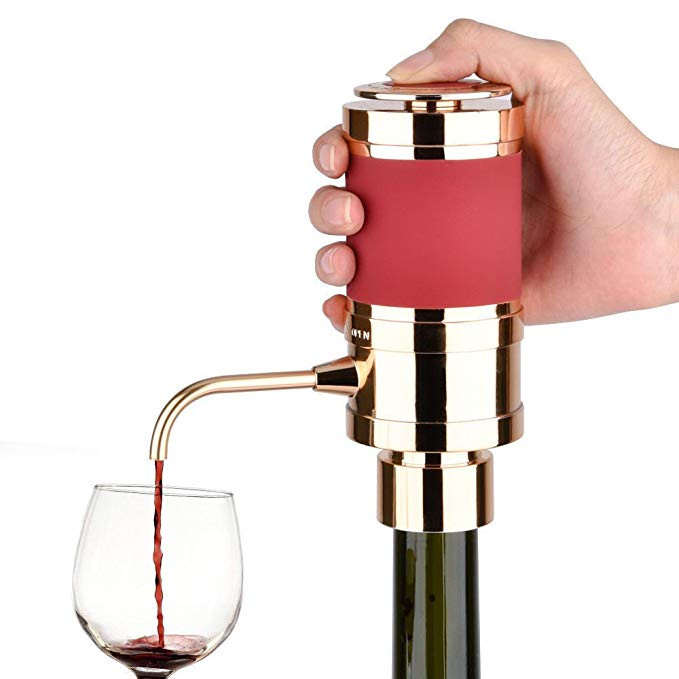 LAVIDA E-Wine Aerator/Dispenser (Gold)