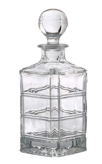 Thomas O'Brien Darby Crystal Decanter
