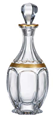 Bohemia Crystal - Safari Gold Decanter 27 oz.