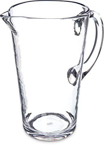 Carlisle MIN544307 Mingle Pitcher, 74 oz, Tritan, Clear